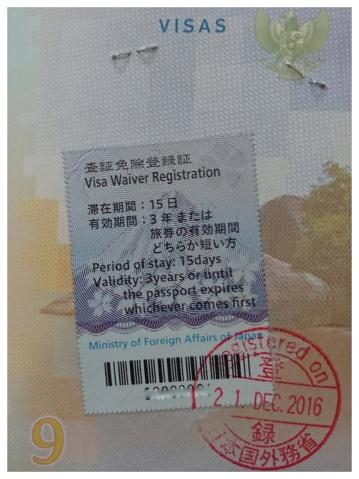 Visa Waiver Jepang