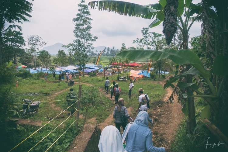 Menuju Lokasi Paju Jawi di Tanah Datar sumatera barat