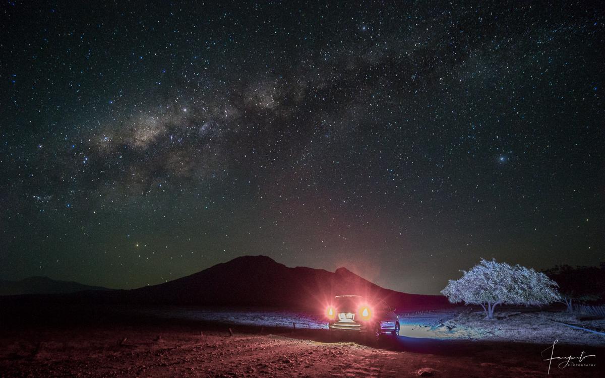 Galaxy Bimasakti di Taman Nasional Baluran