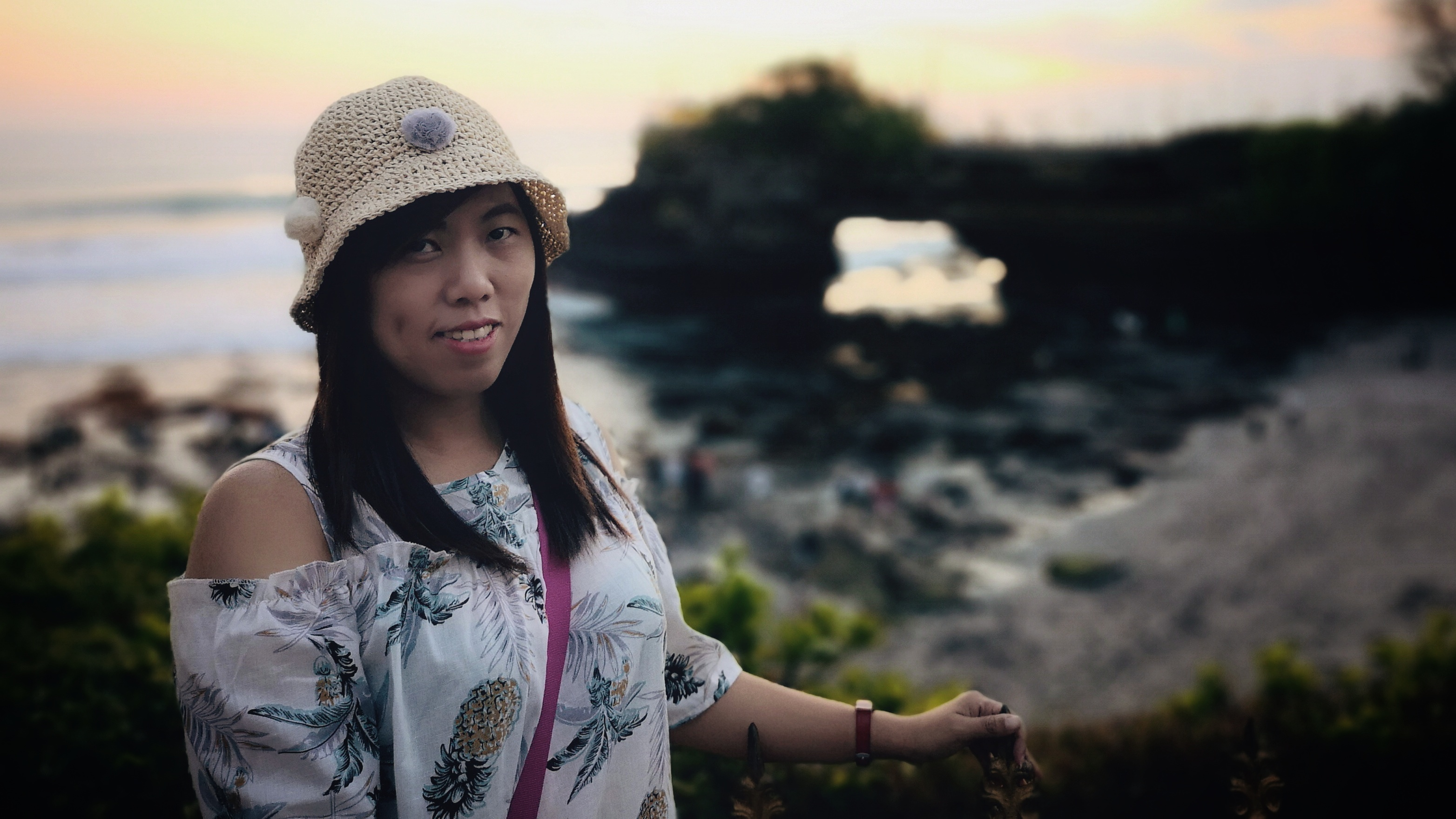Potrait Photo di Karang Bolong - Tanah Lot