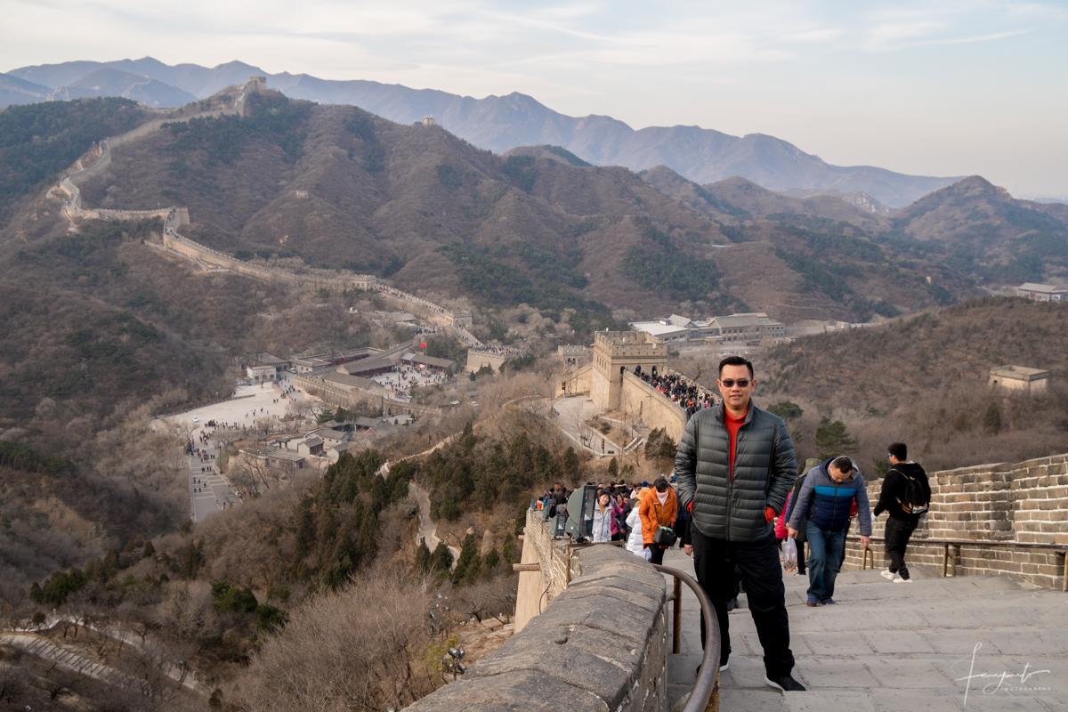fanyanto ke Tembok China badaling Great Wall-3