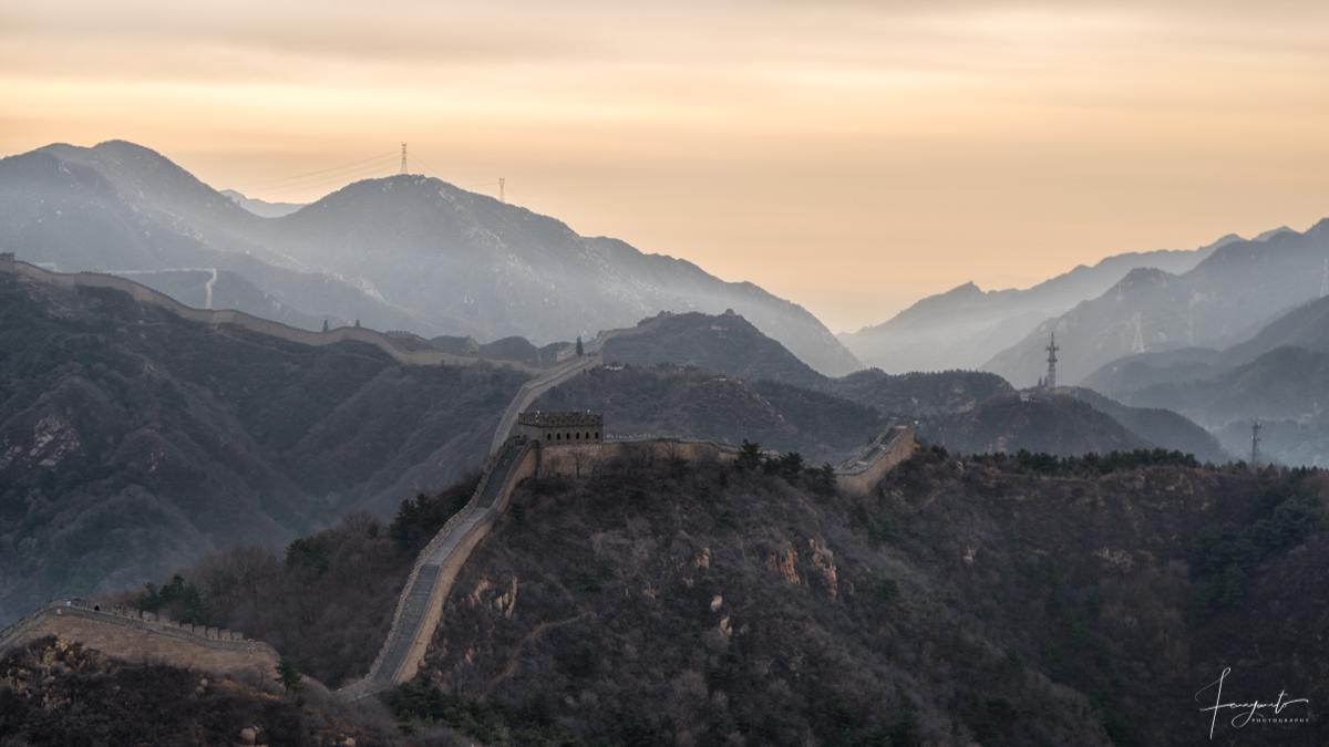 fanyanto ke Tembok China badaling Great Wall